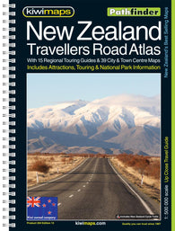 Buy map New Zealand, Travellers Road Atlas by Kiwi Maps