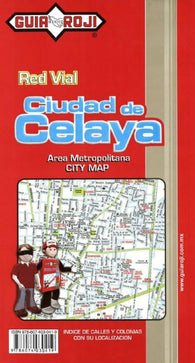 Buy map Celaya, Mexico by Guia Roji
