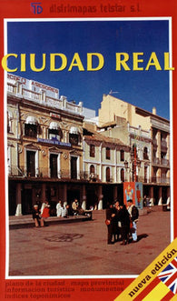 Buy map Ciudad Real, Spain by Distrimapas Telstar, S.L.