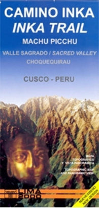 Buy map Inca Trail, Sacred Valley by Lima 2000