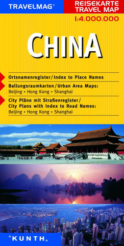Buy map China by Kunth Verlag