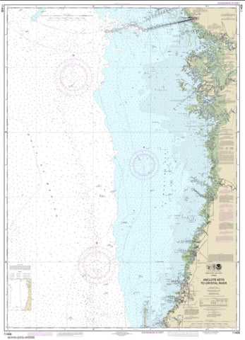 Buy map Anclote Keys to Crystal River (11409-30) by NOAA