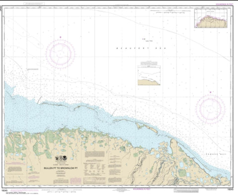 Buy map Bullen Pt. to Brownlow Pt. (16045-8) by NOAA