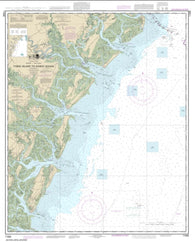Buy map Tybee Island to Doboy Sound (11509-32) by NOAA