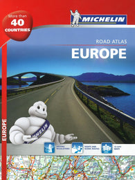 Buy map Europe, Motoring Atlas, Spiral Bound, 2015 (136) by Michelin Maps and Guides