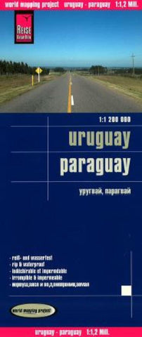 Buy map Uruguay and Paraguay by Reise Know-How Verlag