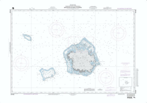 Buy map Senyavin Islands - Pohnpei (NGA-81435-4) by National Geospatial-Intelligence Agency
