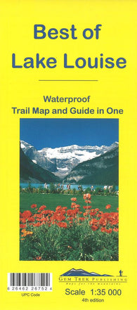 Buy map Lake Louise, Best of by Gem Trek