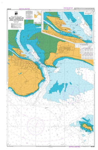 Buy map BLUFF HARBOUR AND ENTRANCE (6821) by Land Information New Zealand (LINZ)