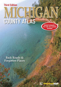Buy map Michigan, County Atlas by Kappa Map Group
