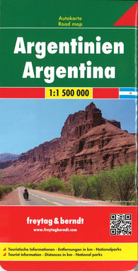 Buy map Argentina by Freytag-Berndt und Artaria