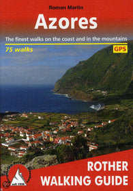 Buy map Azores, Walking Guide by Rother Walking Guide, Bergverlag Rudolf Rother