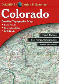 Buy map Colorado, Atlas and Gazetteer by DeLorme