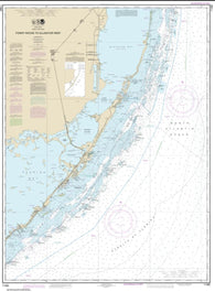 Buy map Fowey Rocks to Alligator Reef (11462-27) by NOAA