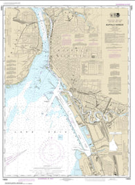 Buy map Buffalo Harbor (14833-27) by NOAA