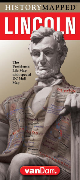 Buy map Lincoln Presidential Map by VanDam