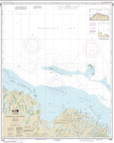 Buy map Prudhoe Bay and vicinity (16061-9) by NOAA