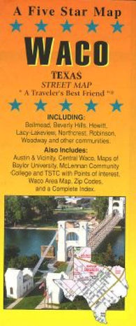 Buy map Waco, Texas by Five Star Maps, Inc.