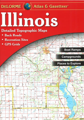 Buy map Illinois Atlas and Gazetteer by DeLorme