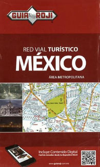 Buy map Mexico City, Mexico, Metropolitan by Guia Roji