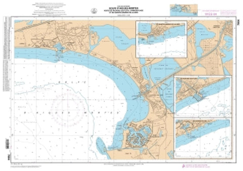 Buy map Carnon-Plage by SHOM