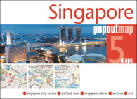 Buy map Singapore, PopOut Map by PopOut Products