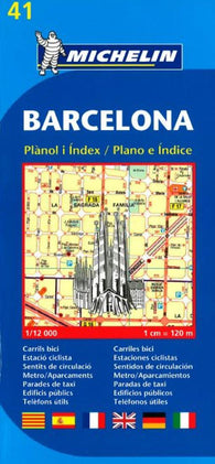 Buy map Barcelona, Spain (41) by Michelin Maps and Guides
