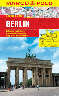 Buy map Berlin, Germany by Marco Polo Travel Publishing Ltd