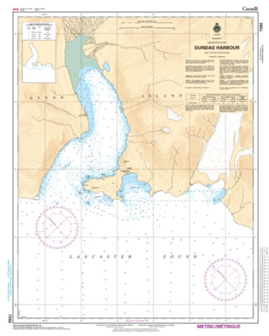 Buy map Dundas Harbour by Canadian Hydrographic Service