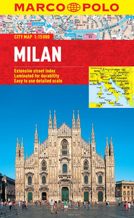 Buy map Milan, Italy by Marco Polo Travel Publishing Ltd