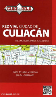 Buy map Culiacan, Mexico by Guia Roji