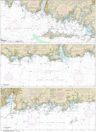 Buy map Long Island Sound-Watch Hill to New Haven Harbor (12372-36) by NOAA