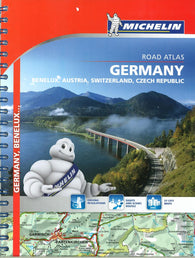 Buy map Europe, Central, Road Atlas (21463) by Michelin Maps and Guides