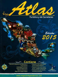 Buy map Atlas of Mexico, Tourist Routes and Roads by Ediciones Independencia