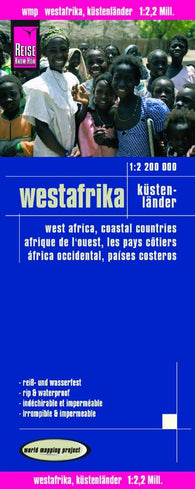 Buy map Africa, West, Coastal Countries by Reise Know-How Verlag
