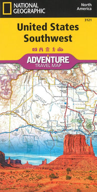 Buy map U.S. Southwest Adventure Map (3121) by National Geographic Maps
