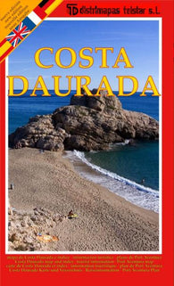 Buy map Daurada Coast, Spain by Distrimapas Telstar, S.L.