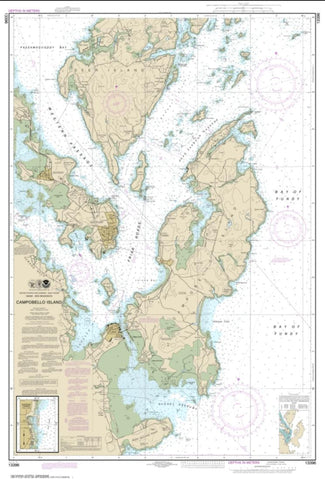 Buy map Campobello Island; Eastport Harbor (13396-6) by NOAA