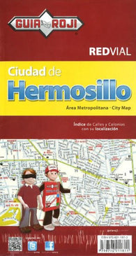 Buy map Hermosillo, Mexico by Guia Roji