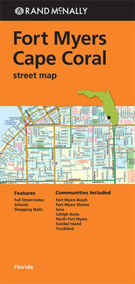 Buy map Fort Myers and Cape Coral by Rand McNally