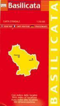 Buy map Basilicata, Italy by Litografia Artistica Cartografica