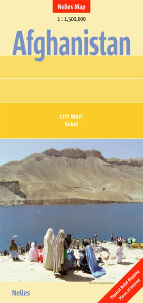 Buy map Afghanistan by Nelles Verlag GmbH