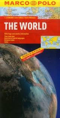 Buy map World, Folded with Flags by Marco Polo Travel Publishing Ltd