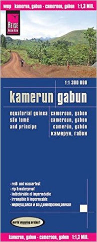Buy map Cameroon and Gabon by Reise Know-How Verlag