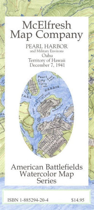 Buy map Pearl Harbor by McElfresh Map Co.