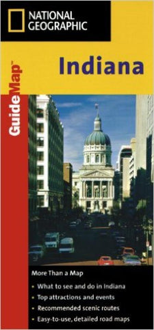 Buy map Indiana GuideMap by National Geographic Maps