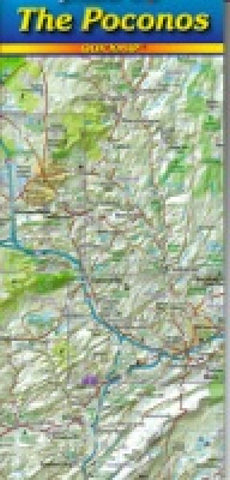 Buy map Poconos, Pennslyvania, Quickmap by Jimapco