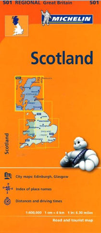 Buy map Scotland (501) by Michelin Maps and Guides