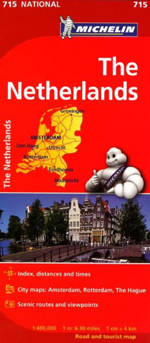 Buy map Netherlands (715) by Michelin Maps and Guides