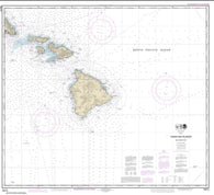 Buy map Hawai'ian Islands southern part (19010-20) by NOAA